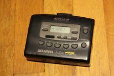 Vintage Sony Walkman Wm-Fx403 Auto Reverse, Radio Works, Tape Doesn't Work