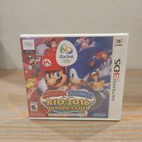 Mario & Sonic at the Rio 2016 Olympic Games (Nintendo 3DS, 2016) NEW SEALED