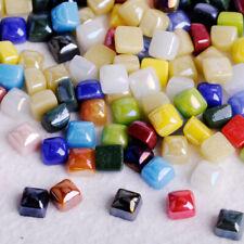 50g Mini Vitreous Glass Mosaic Tiles Wall Crafts Various Mixture Optic Drops.