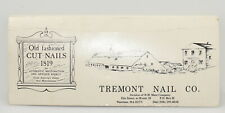 Tremont Nail Co. Old Fashioned Cut Nails Sampler Display History (INV H627)
