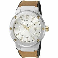 Ferragamo FIF080016 Men's F-80 Two-Tone Quartz Watch