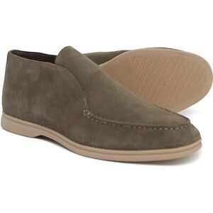 Steve Madden NIB Men's Lost Taupe Suede Chukka Loafers, Size 11 M