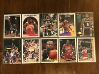 Moses Malone - San Antonio Spurs - 10 Basketball Card Lot - No Duplicates