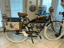 Replica 1900'S Indian Board Track Racer Indian Dealership Delivery Cycle/On Tv