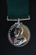 SILVER GV COLONIAL AUXILLARY FORCES LSGC