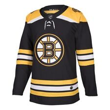 adidas Boston Bruins NHL Authentic Home Jersey Adult Large Size 52 8d887e3f4
