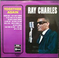 RAY CHARLES  TOGETHER AGAIN 33T LP BIEM STATESIDE 2C 062 91141 + LANGUETTE