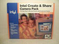 New 1997 Vintage Intel Create Share Camera Pack PCI Modem Video Capture Imaging