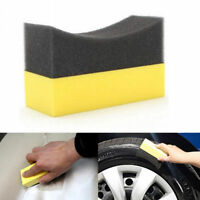 For Car Care Wheel Tire Waxing Polishing Compound Washing Sponge Cleaning Pad