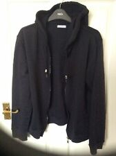 LADIES BLACK PAPAYA HOODIE SIZE 16/18