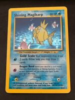 Pokemon Shining Magikarp 66/64 Secret Rare Neo Revelation Heavily Played