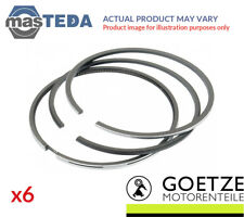 6x GOETZE ENGINE ENGINE PISTON RING SET 08-501900-00 I STD NEW OE REPLACEMENT