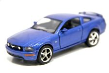 "New 5"" Kinsmart 2006 Ford Mustang GT Diecast Model Toy Car 1:38 Blue"
