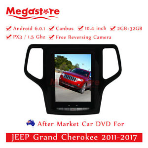 """10.4"""" Android 10.1 tesla style Car Player GPS  for JEEP Grand Cherokee 2014-19"""