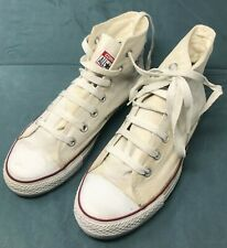 Converse all stars white high top trainers size uk-7 eu-41 us-mens-7.5 woman-9.5
