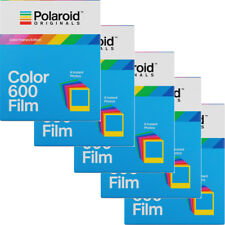 5 Pack Polaroid Originals 4672 Instant Color Film Color Frame for Polaroid 600