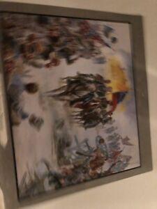 "Civil War Calendar Print  ""His Supreme Moment"" Robert E  Lee By Mort Kuntsler"