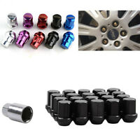 RYVER WHEEL NEO CHROME STEEL LUG NUTS 20 PCS WITH LOCKS  12X1.5MM HONDA ACURA