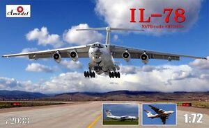 Amodel 72033 - 1/72 Ilyushin Il-78 Inflight Refuelling Tanker plastic model kit