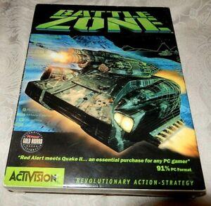 BATTLE ZONE battlezone 1998 PC game BIG BOX ORIGINAL VGC