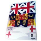 Banderas británicas/British flags/Britische flaggen-Playmobil Stickers/Aufkleber