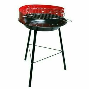 """14"""" ROUND BARBECUE BBQ GRILL OUTDOOR CHARCOAL PATIO COOKING PORTABLE PICNIC"""