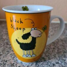 * NEU * Kaffeetasse - Schwarzes Schaf - black sheep - Ritzenhoff - orange *NEU*