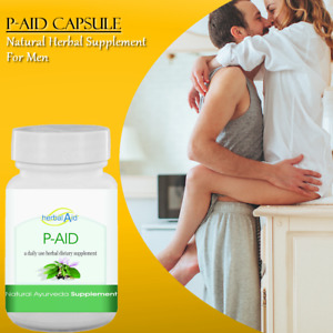 P-Aid Capsule 500mg 60 Pills High Quality Herb For Male - Longer Bigger Stronger