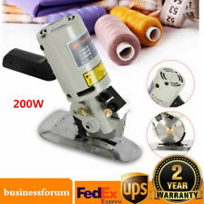 New listing 90Mm Rotary Blade Electric Fabric Cutter Round Knife Cloth Cutting Machine Usa