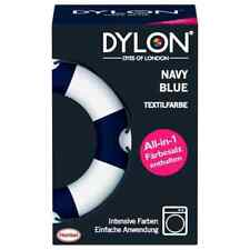 DYLON Navy Blue Fabric Dye Powder 350g Includes Salt