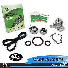Gates HTD Timing Belt Kit w/ Water Pump for 05-10 Hyundai Kia 2.0L G4GC G4GF