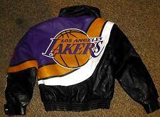 JEFF HAMILTON: NBA LOS ANGELES LAKERS  ITALIAN LAMBSKIN JACKET.NEW WAS $1799