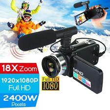 Digital 18XZoom Camera 24MP Professional 4K 1080P HD Camcorder Video Camera Gift