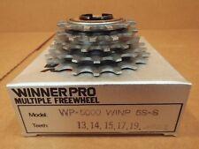 New-Old-Stock Suntour Winner Pro 5-Speed Freewheel (13x19) w/Silver Finish