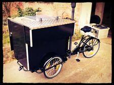 Grillfahrrad, food-bike, Grillwagen, das Original NEU FOOD3 E bike