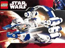 LEGO 7661 Star Wars Jedi Starfighter with Hyperdrive Booster Ring - Complete