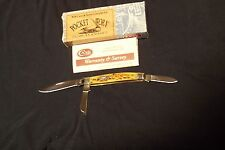 Case Item # 05448 Antique Bone Stockman Knife Made 12/08/03 In The Usa Nib
