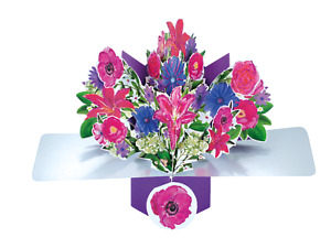POP-UP FLORAL BIRTHDAY CARD - Fab Card Springs to life when opened L@@K