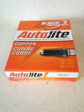 Autolite 4265 14mm Spark Plug BOX(4 FOUR) Motorcycle/Cycle/Small Engine/Marine