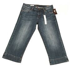 Kut from the Kloth Women's Size 6 NWT Natalie Crop Jeans Denim Capris New Blue