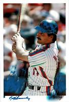 Keith Hernandez hand embellished George Kalinsky art piece! New York Mets!