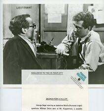 GEORGE SEGAL MICHAEL DUNN NO WAY TO TREAT A LADY ORIGINAL 1971 ABC TV PHOTO