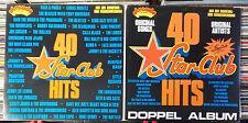 40 STAR - CLUB HITS ARCADE 2LP: PHANTOM BROTHERS RATTLES LORDS BEATLES REMO 4