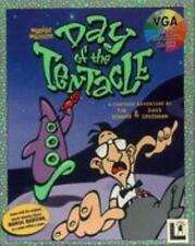 Maniac Mansion Day of the Tentacle + Hintbook MAC CD haunted house game! BIG BOX