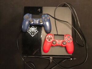 PS4 2TB Hard Drive and 2 Controllers