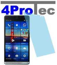 4x hartbeschichtete Pellicola protezione display AR per HP Elite x3 SCHERMO