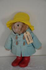 "Vintage Paddington Bear Plush 1976 18"" Doll Stuffed Toy Eden"