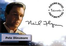 Smallville Season 3 Auto Autograph Card A23 Neil Flynn as Pete Dinsmore