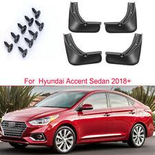 Mudguard Mud Flap Splash Guard Fender Mudflap For Hyundai Accent Sedan 2018-2021