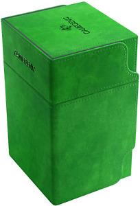 Watchtower 100+ Card Convertible Deck Box: Green GameGenic Asmodee NEW